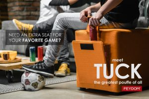 <b>TUCK</b> - A seat for your favorite game