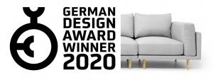 <b>German Design Award 2020 Winner: </b>CLOOODS Becomes FEYDOM's Most Awarded Sofa System